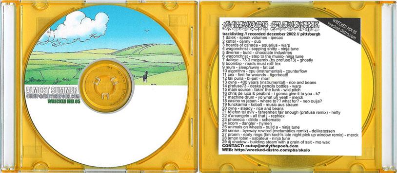 Cutups – Almost Summer mix (2002)