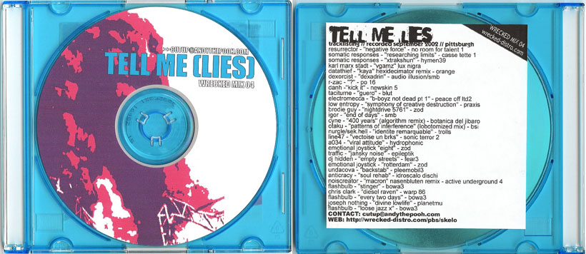 Cutups – Tell Me (Lies) mix (2003)