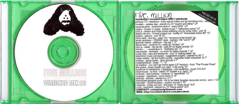 Cutups – Five Million mix (2003)