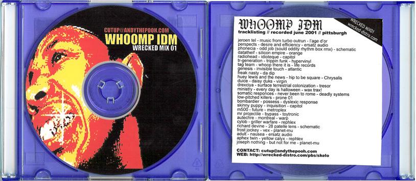 Cutups – Whoomp IDM mix (2001)