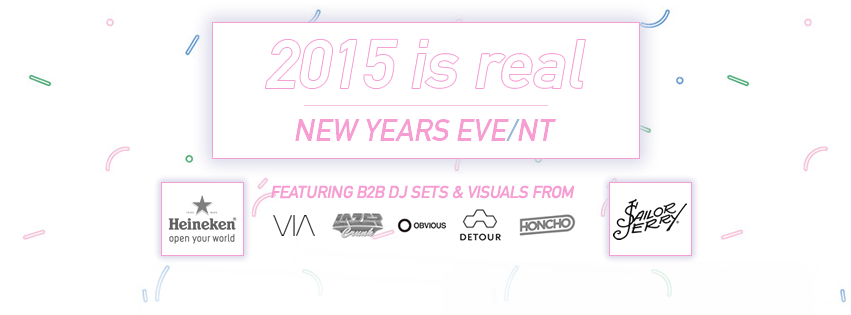 Wed Dec 31st 2015 is REAL –  New Years Eve/nt at The Ballroom