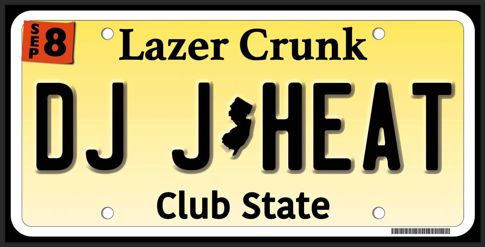 Fri Sept 8th Lazercrunk w/ DJ J-Heat (Night Slugs / Brick Bandits) @ Belvederes